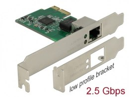 KARTA SIECIOWA DELOCK PCI-E 1X RJ45 2.5GB LOW PROFILE