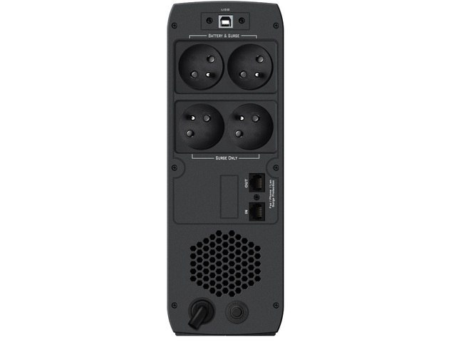 UPS POWERWALKER LINE-INTERACTIVE CSW 600 VA 4X FR OUT, RJ11/RJ45 IN/OUT, USB, 2X USB ŁADOWARKA