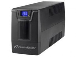 UPS POWERWALKER LINE-INTERACTIVE 800VA SCL 2X SCHUKO 230V, RJ11/45 IN/OUT, USB, LCD
