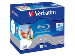 BD-R VERBATIM 25GB X6 PRINTABLE (JEWEL CASE 10)