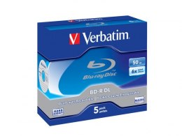 BD-R VERBATIM 50GB X6 (JEWEL CASE 5)