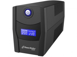 UPS POWERWALKER LINE-INTERACTIVE 600VA STL FR 2X PL 230V, RJ11/45 IN/OUT, USB