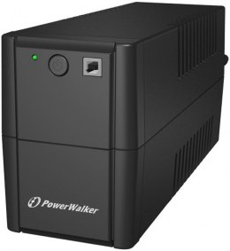 UPS POWERWALKER LINE-INTERACTIVE 650VA 2X 230V PL OUT, RJ11 IN/OUT, USB
