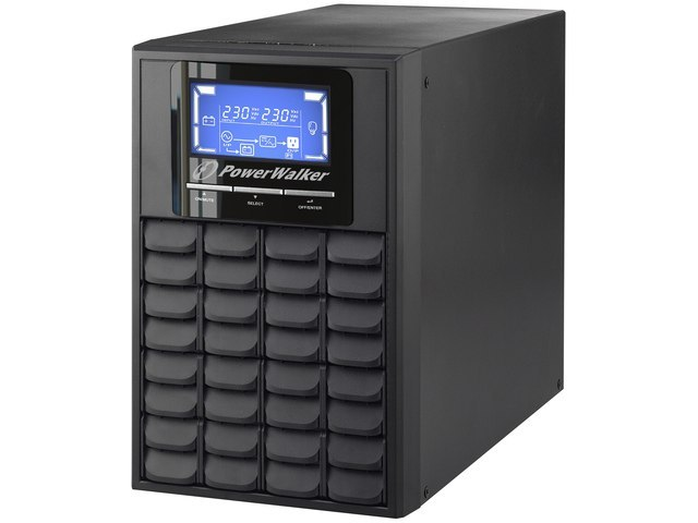 UPS POWERWALKER ON-LINE 1000VA 3X IEC C13 OUT, USB/RS-232, LCD, TOWER