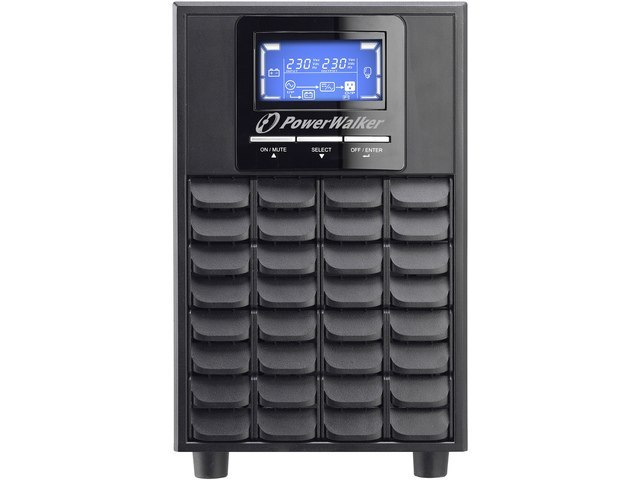 UPS POWERWALKER ON-LINE 2000VA 4X IEC OUT, USB/RS-232, LCD, TOWER