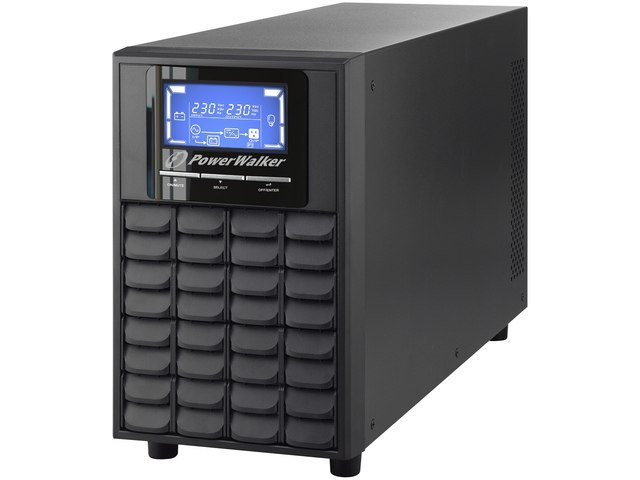 UPS POWERWALKER ON-LINE 3000VA 4X IEC OUT, USB/RS-232, LCD, TOWER