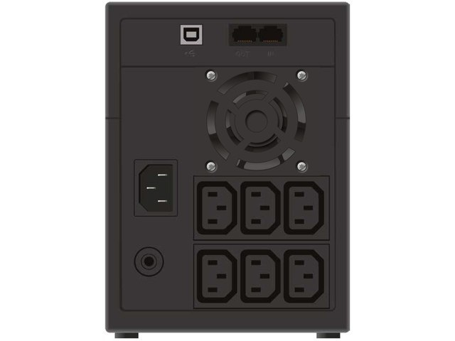 UPS POWERWALKER LINE-INTERACTIVE 2200VA, 6X IEC OUT, RJ11/RJ45 IN/OUT, USB, LCD