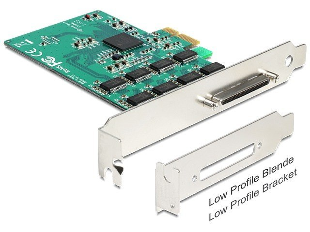 KARTA PCI EXPRESS X1->8X SERIAL RS-432 921K DELOCK